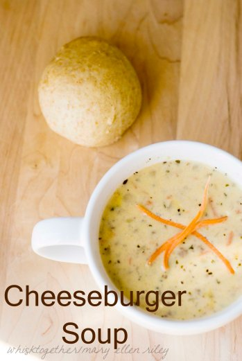 Cheeseburger Soup on Whisk Together
