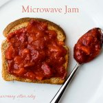 Microwave Jam- No Canning required!