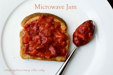 Microwave Jam on Whisk Together