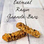 Oatmeal Raisin Granola Bars