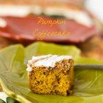 Pumpkin Coffeecake