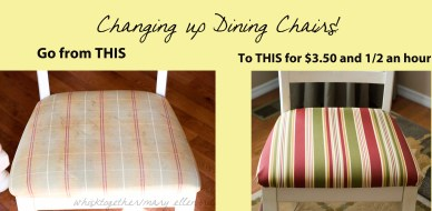 Changing Up Dining Chairs!
