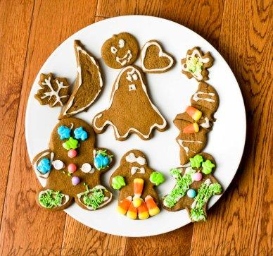Gingerbread Men for Halloween on WT