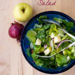 Red Onion and Apple Salad