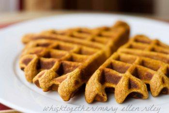Pumpkin Waffles on Whisk Together