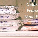 Chicken Freezer Meal Workshop