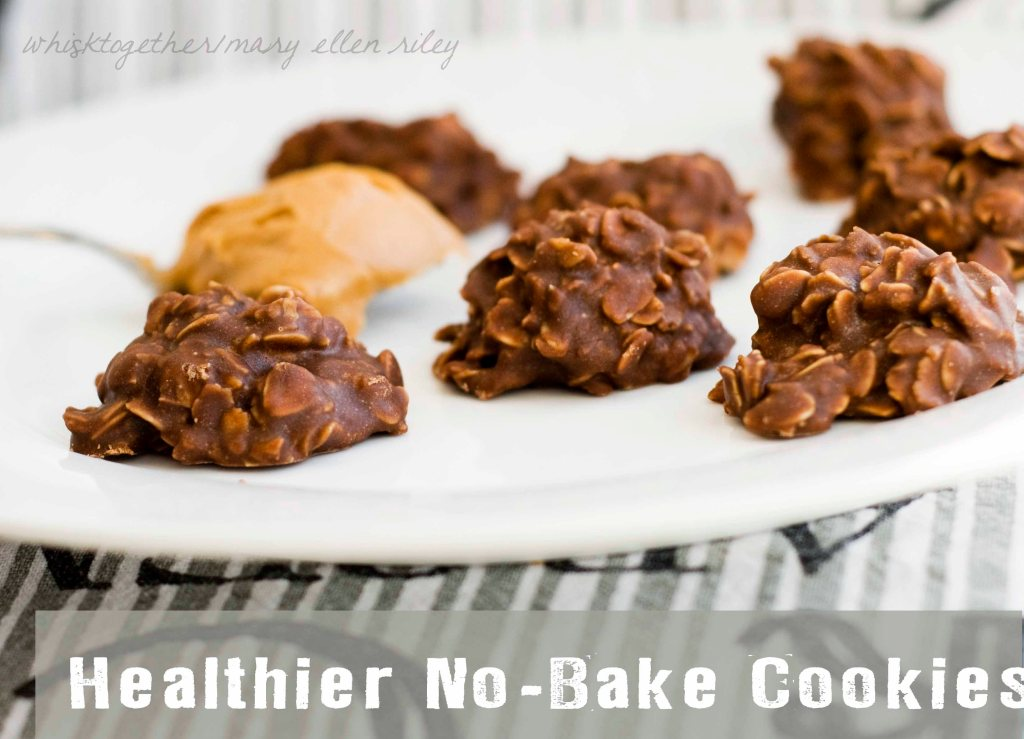 No Bake Chocolate Peanut Butter Cookies on Whisk Together