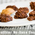Healthier No-Bake Chocolate Peanut Butter Cookies