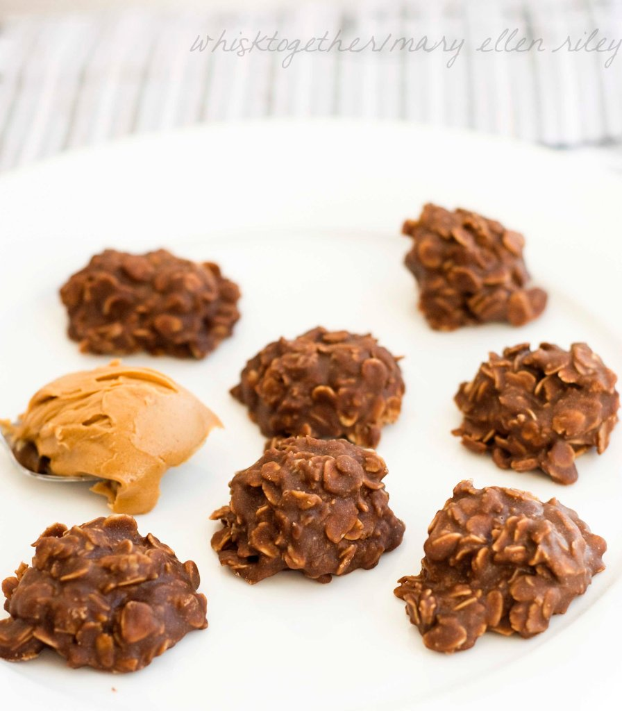 No Bake Chocolate Peanut Butter Cookies_1 on Whisk Together
