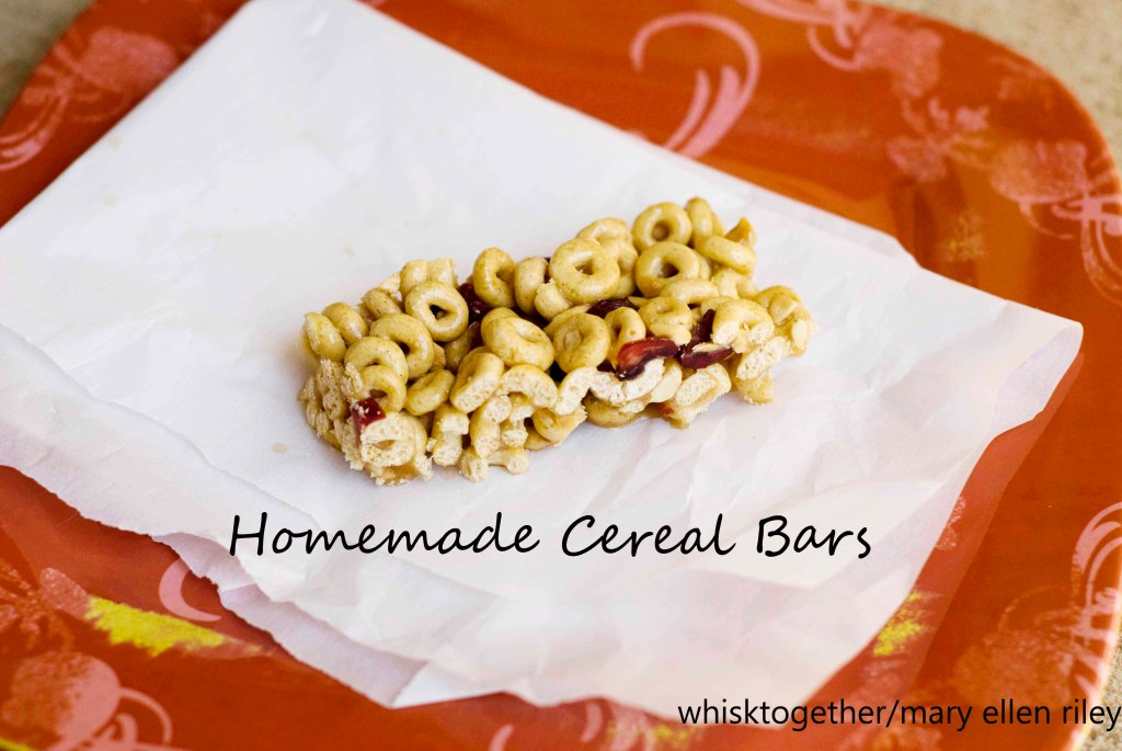 Honey Nut Cheerio Bars on Whisk Together