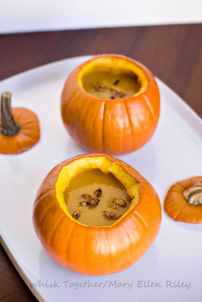 Pumpkin Bowl Soup at Whisk Together