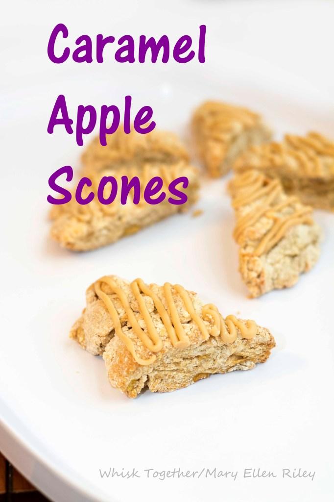 Caramel Apple Scones_4 on Whisk Together