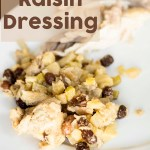 Apple Raisin Dressing