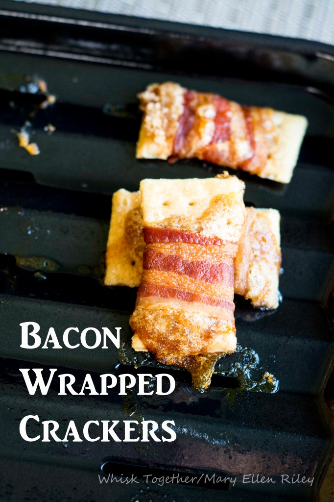 Bacon Wrapped Crackers_1 on Whisk Together