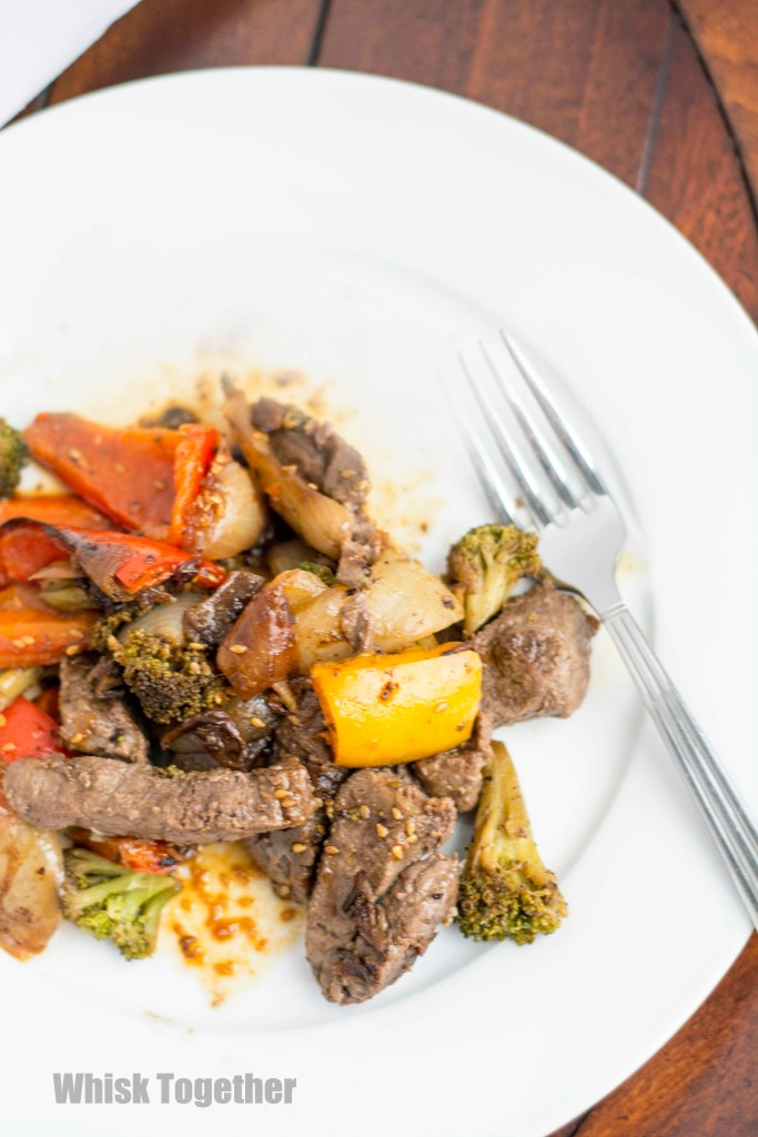 Beef and Broccoli Stir Fry on Whisk Together