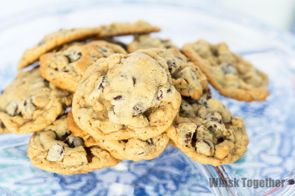 Chocolate Chip Oatmeal Cookies-1769 on Whisk Together