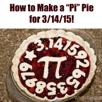 "How to Make a ""Pi"" Pie for Pi Day!"