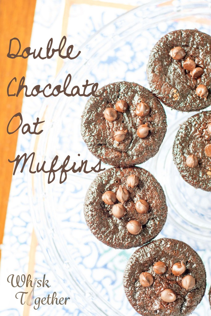 Double Chocolate Oat Muffins