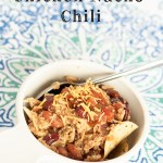 Slow Cooker Chicken Nacho Chili
