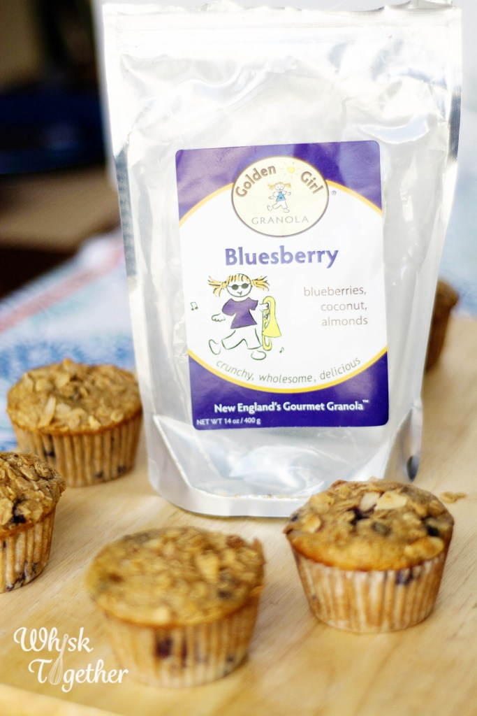Granola Blueberry Muffins-2672 on Whisk Together