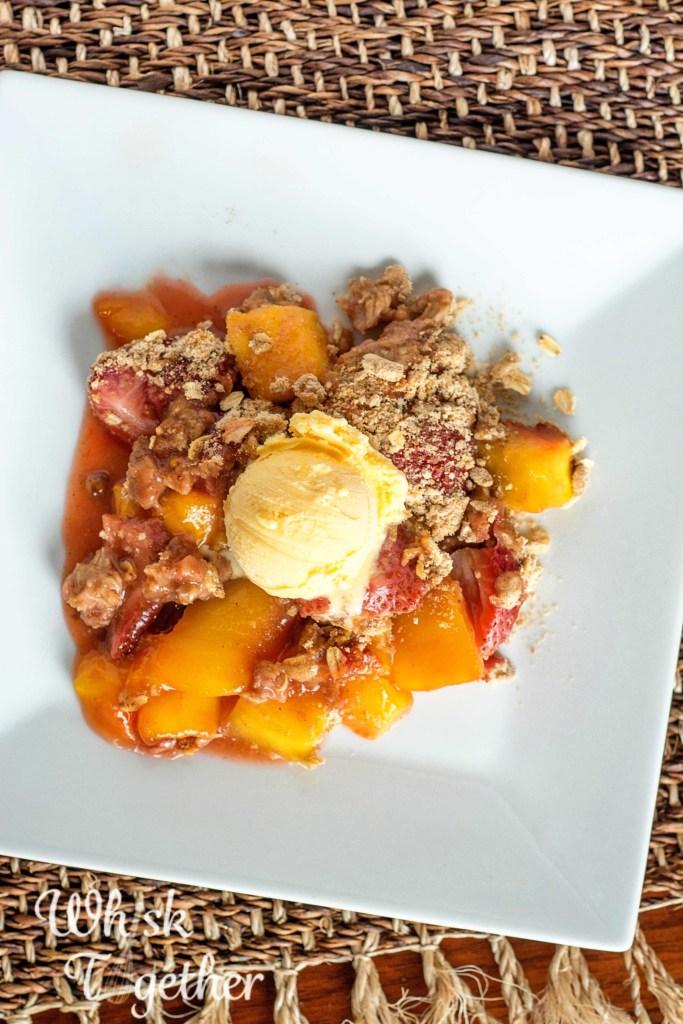 Mango Strawberry Crisp on Whisk Together-2887