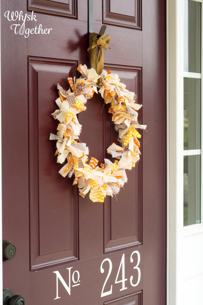 Fall Rag Wreath on Whisk Together-4915