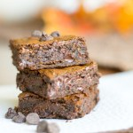 Chewy Molasses Ginger Chocolate Chip Bars