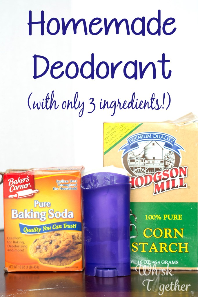 Homemade Deodorant on Whisk Together