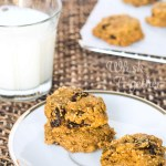 Pumpkin Spice Raisin Cookies