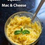 Individual Squash Mac and Cheese