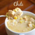 White Chicken Chili & Book Review
