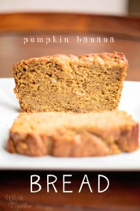 Pumpkin Banana Bread Amp Book Review