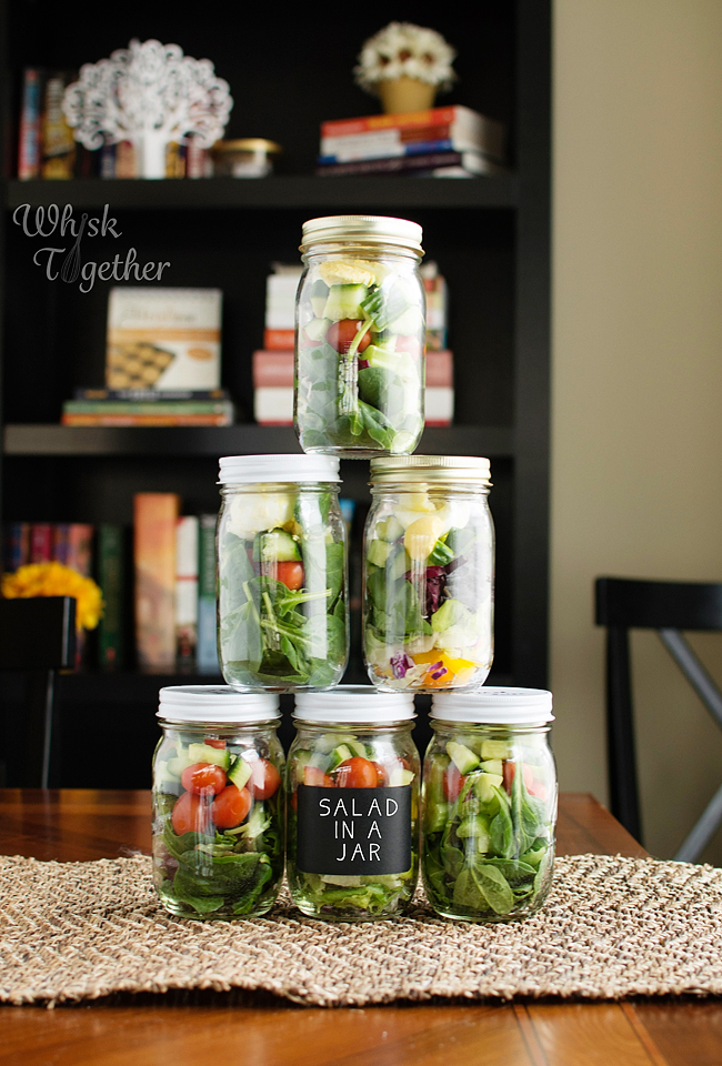Let's Party! -- Salad in a Jar Party That Is