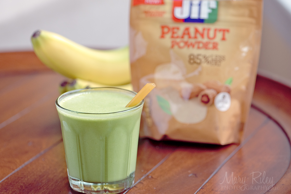 Peanut Butter Spinach Smoothie 3 Mary Riley Photography Wentzville Missouri