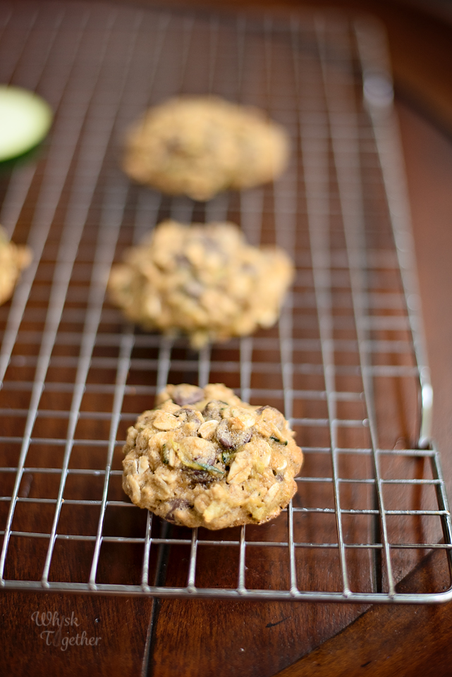 Chocolate Chip Zucchini Cookie Whole Wheat