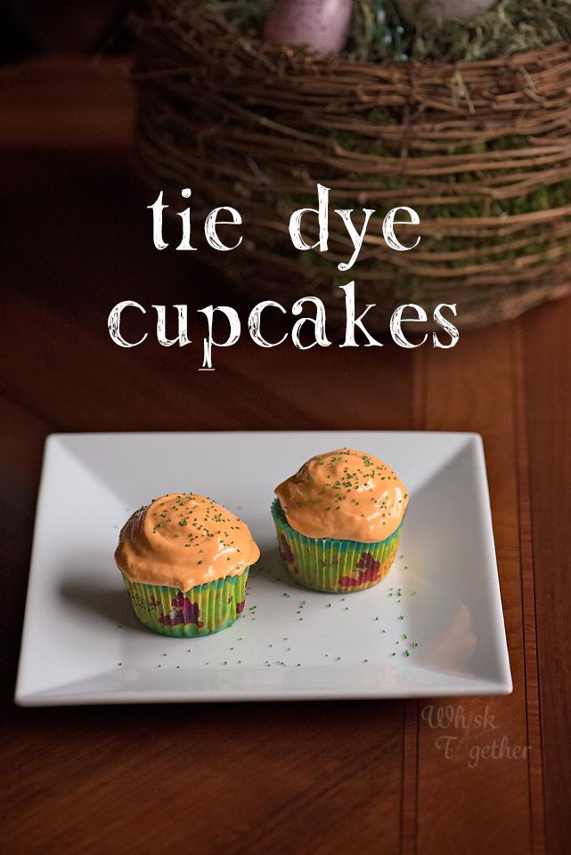 tie dye cupcakes recipe