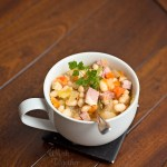 Simply Homemade Ham and Bean Soup