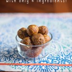 Energy Balls – with only 4 ingredients!