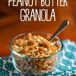 Peanut Butter Granola (No Oil!)