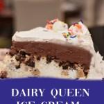 Dairy Queen Ice Cream Cake
