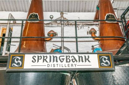 Springbank Pot Stills