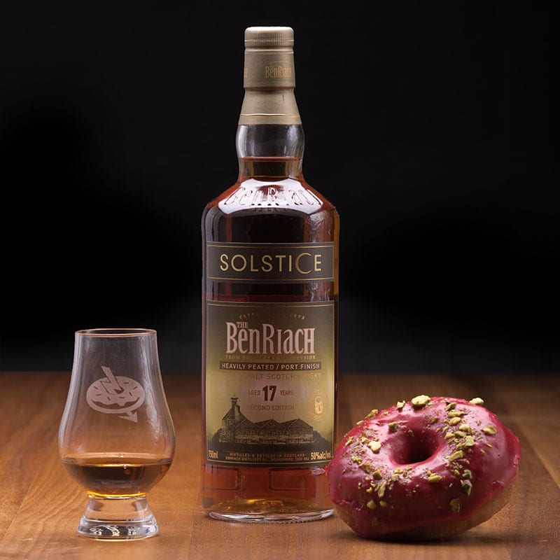 Benriach Solstice 17 | Raspberry & Pistachio - Whisky and Donuts