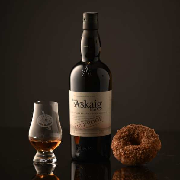 Port Askaig 110 Proof - Vanilla Cinnamon Crumble - Whisky And Donuts - WhiskyAndDonuts.com