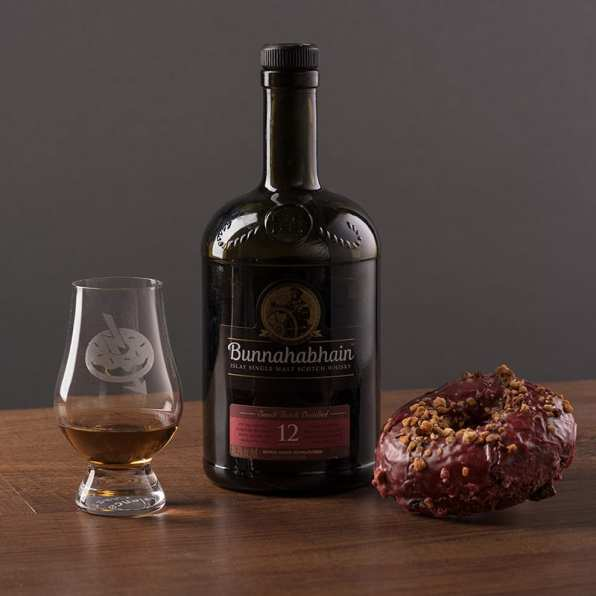 Bunnahabhain 12   Orange Cherry & Pistachio Praline - Whisky And Donuts - WhiskyAndDonuts.com