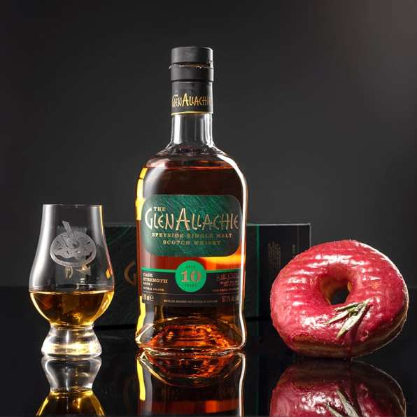 Glenallachie 10 Cask Strength   Rose Merry Berry - Whisky and Donuts - WhiskyAndDonuts.com