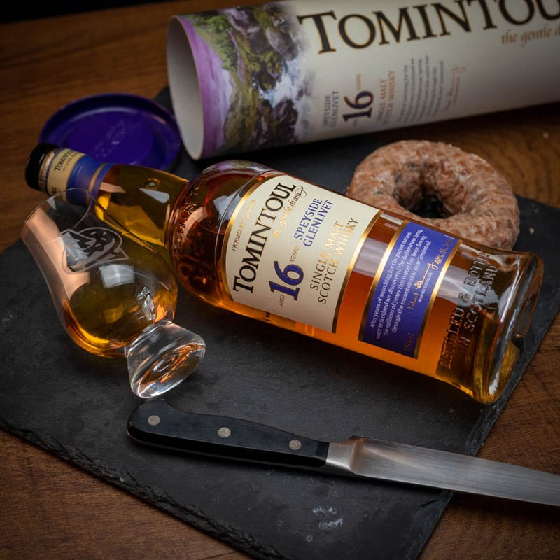 Tomintoul 16 Yo | Blueberry Pancake - Whisky And Donuts - whiskyanddonuts.com