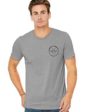 Small Batch Mens Tee - DarkGrey - Whisky and Donuts - WhiskyAndDonuts.com