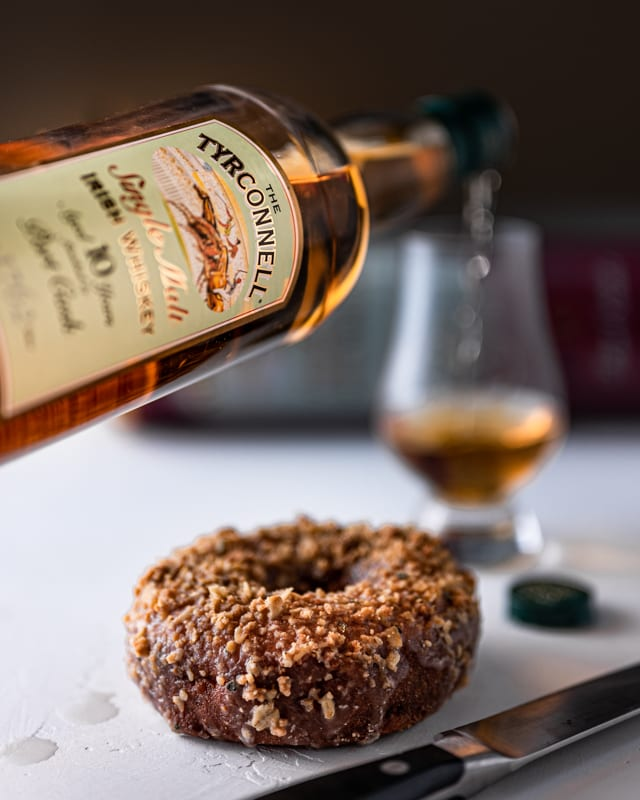 Tyrconnell 10YO Port Cask - Peach Crumb - Whisky And Donuts - WhiskyAndDonuts