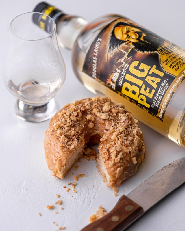 Douglas Laing Big Peat | Maple Walnut - Whisky And Donuts - WhiskyAndDonuts.com