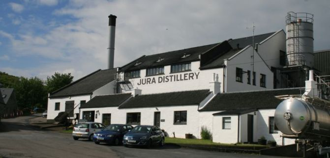 Some quality time at Jura Distillery